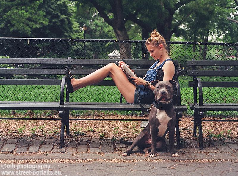 clair and leonidas - tompkins square park nyc