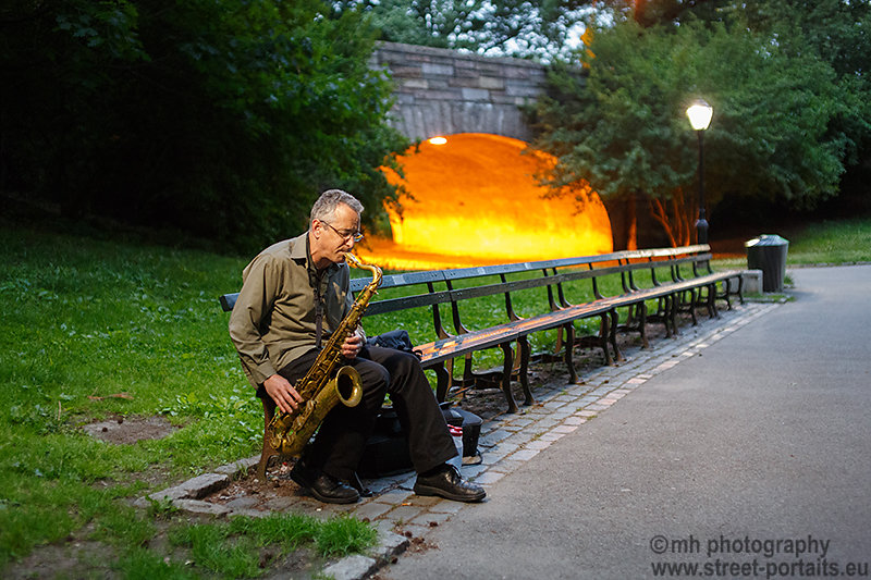 nyc saxophone - central park nyc