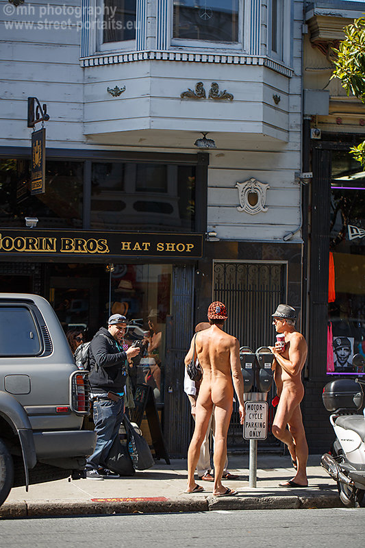 naked guys - haight street san francisco