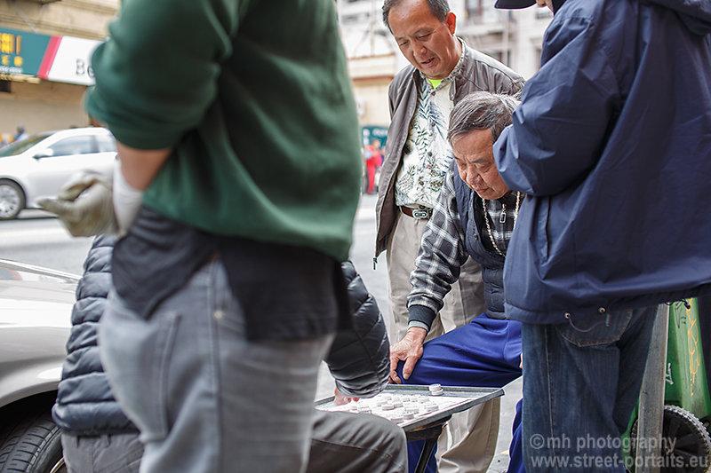 street gamblers - china town san francisco