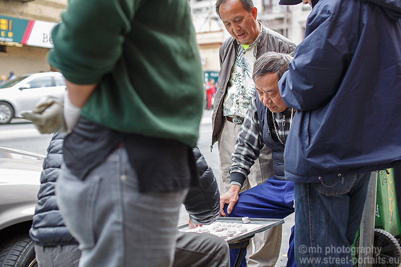 street gamblers - china town san francisco