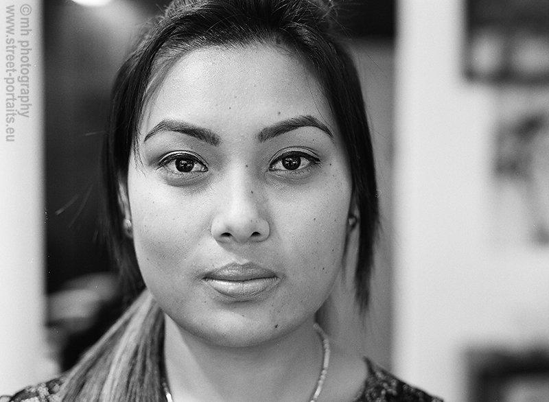 srijana from nepal - university way ne - the ave - seattle